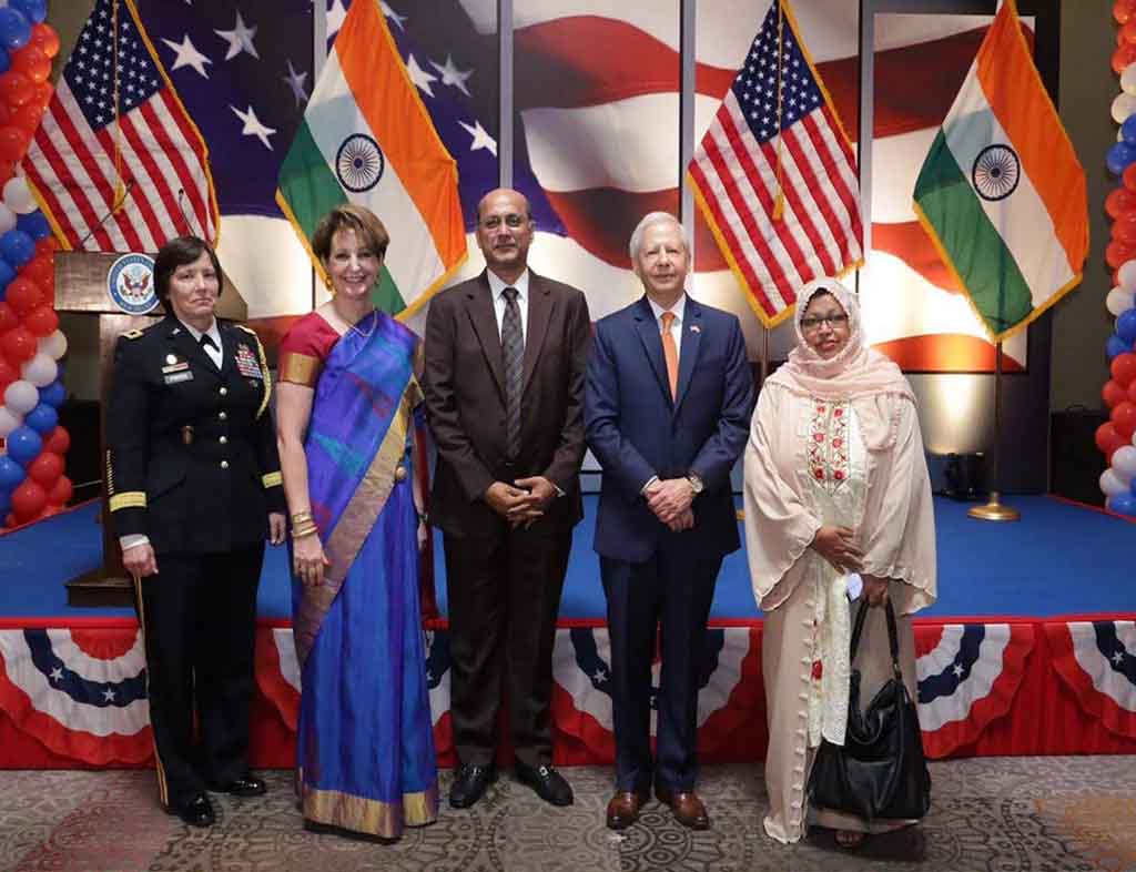 President All India Muslim Women Personal Law Board , Dr Shaista Amber with American Delegates