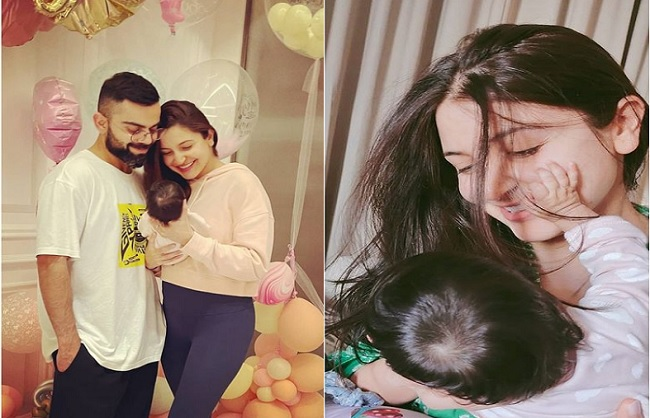 Virat and Anushka shared the good news coming home on August